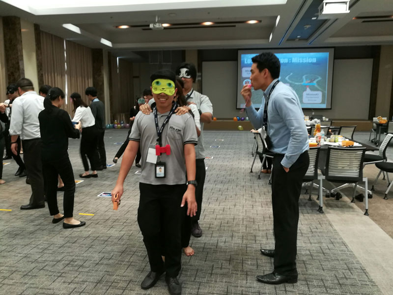 LOST IN AMAZON : LEADING TEAM TO MAXIMIZE PERFORMANCE รุ่น 1 (บริษัท ตรีเพชรอีซูซุเซลส์ จำกัด)