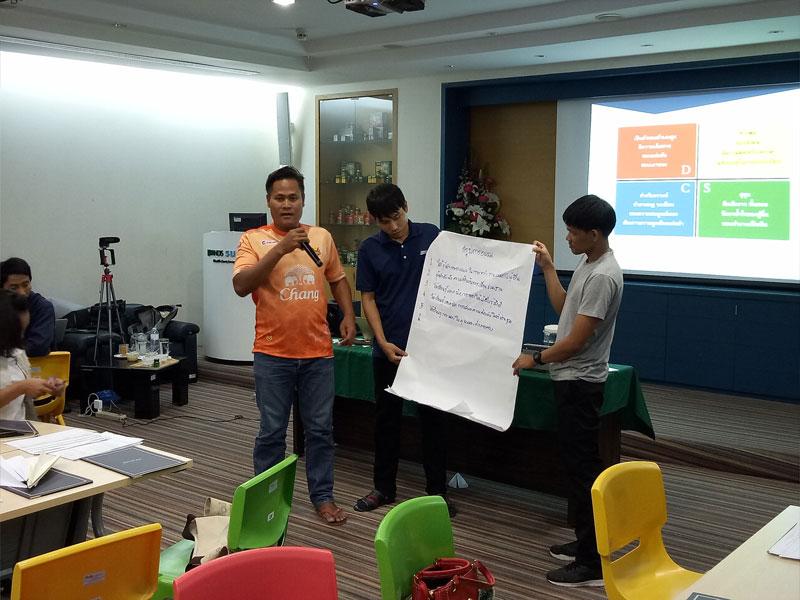 SELF-LEADERSHIP รุ่น 1 (บริษัท แบรนด์ ซันโทรี่ (ประเทศไทย) จำกัด)