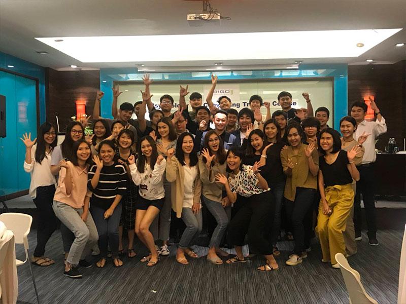 บริษัท ทริโก้ ควอลิตี้ เซอร์วิสเซส (ประเทศไทย) จำกัด  อบรมหลักสูตร PSYCHOLOGY FOR CONVINCING