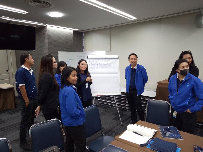 บริษัท ศูนย์การเรียนรู้ทิสโก้ จำกัด  SMARTER LEADERSHIP DEVELOPMENT รุ่น 5