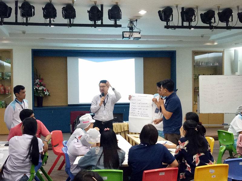 SELF-LEADERSHIP รุ่น 3 (บริษัท แบรนด์ ซันโทรี่ (ประเทศไทย) จำกัด)