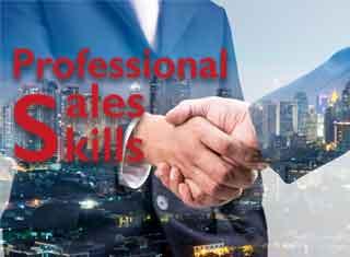PROFESSIONAL SALES SKILLS ก้าวสู่การเป็นนักขายมืออาชีพ