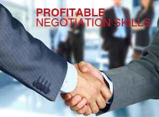 PROFITABLE NEGOTIATION SKILLS อบรมการขายทักษะการเจรจาต่อรองที่สร้างผลกำไร ปิดการขายแบบ Win-Win