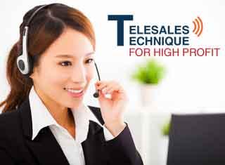 TELESALES TECHNIQUE FOR HIGH PROFI สุดยอดปิดการขายทางโทรศัพท์